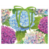 Caspari Hydrangea Garden Small Gift Bag - 1 Each