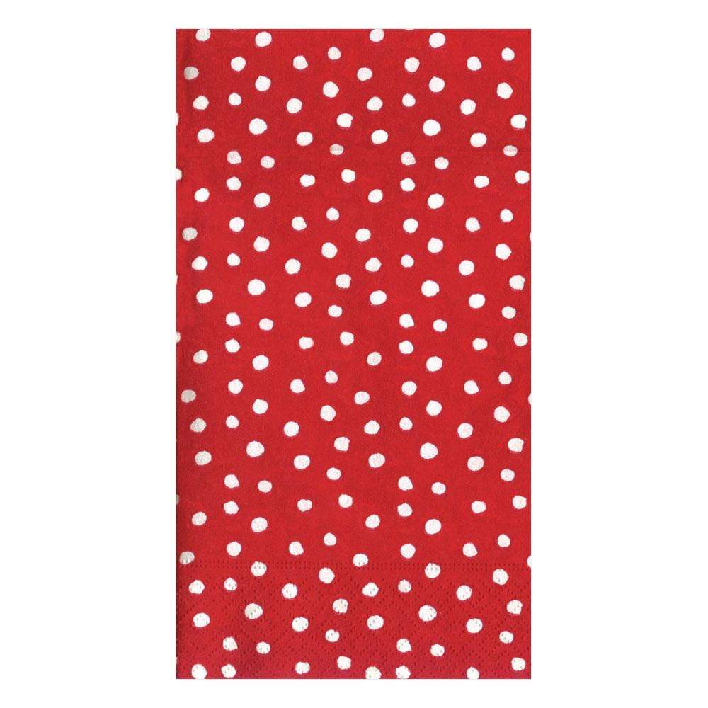 48 Pieces Royal Blue Polka Dots Party Lunch Napkins