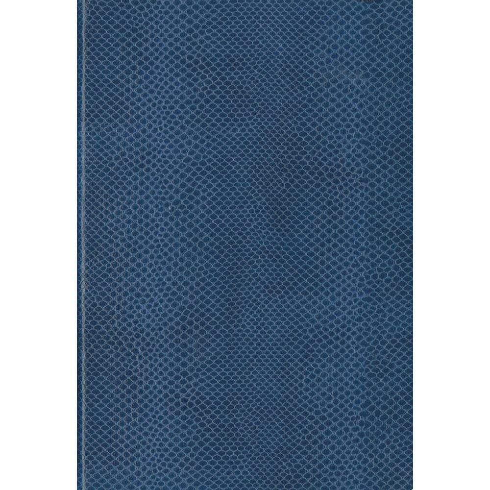 Caspari Snakeskin Lined Writing Journal in Navy - 1 Each