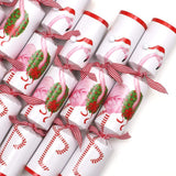 Caspari Christmas Flamingo Celebration Christmas Crackers - 8 Per Box