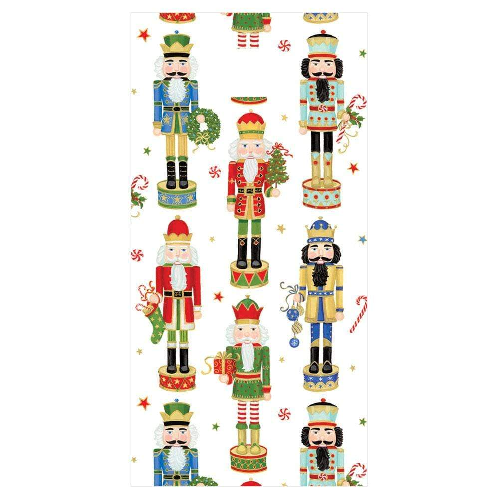 Caspari Nutcracker Parade Favor Bags - 8 Per Package