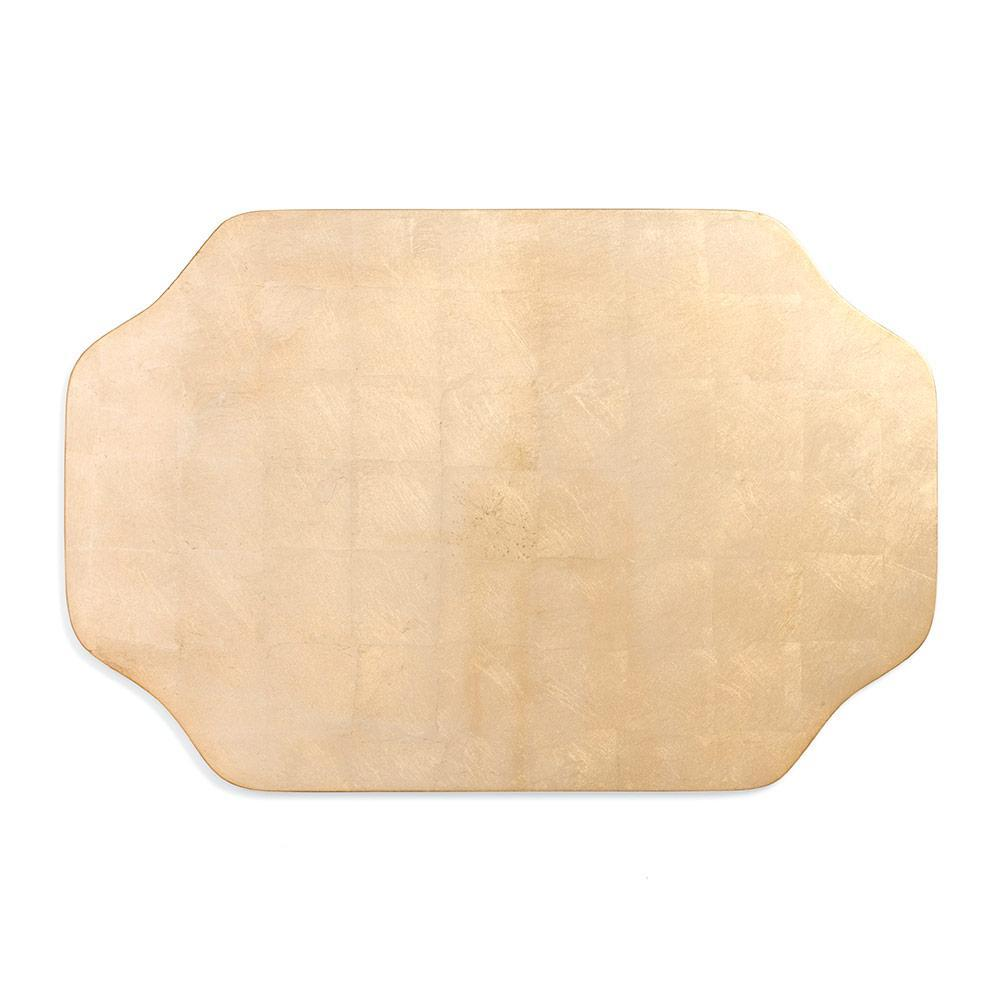 Caspari Gold Chippendale Lacquer Placemat - 1 Each