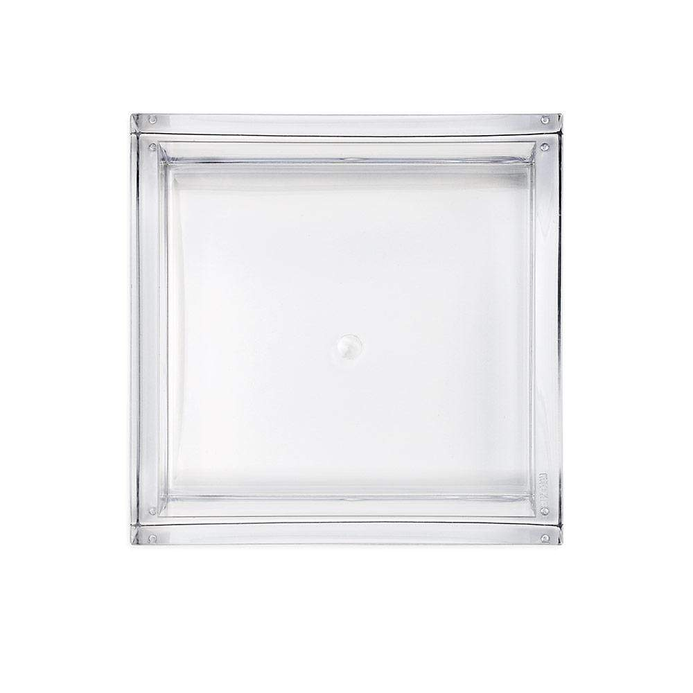 Caspari Acrylic Cocktail Napkin Holder in Crystal Clear - 1 Each