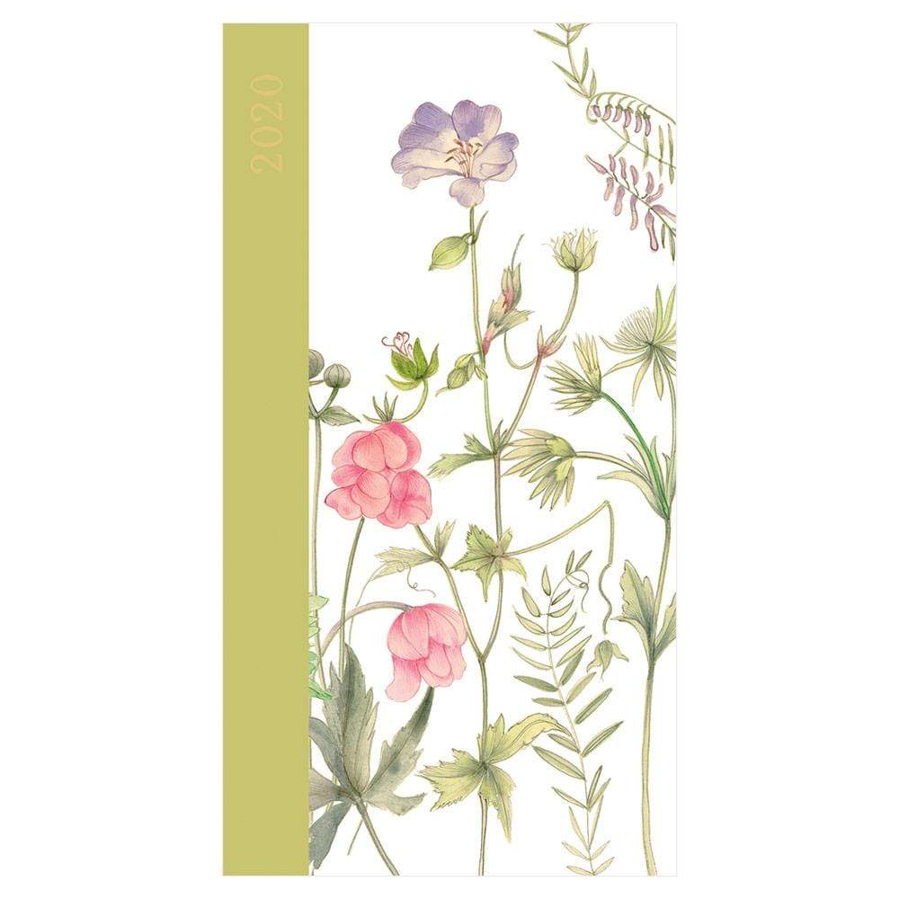 Caspari French Floral 2020 Slim Diary & Planner - 1 Each
