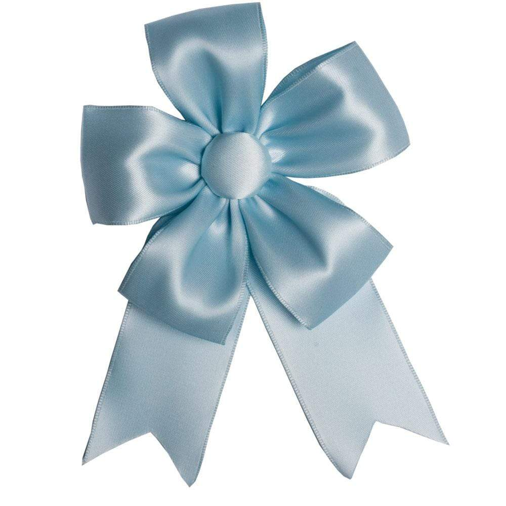 Caspari Solid Ribbon Bow in Light Blue - 1 Each