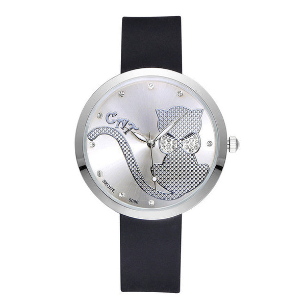Luminous bow Water resistant WristWatch
