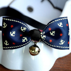 Kitty Cat Bow Tie with Bell