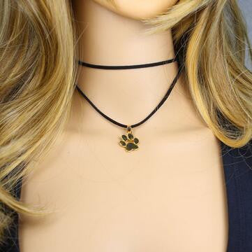 Paw stylish choker