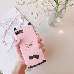 3D Kitty Case For iPhone