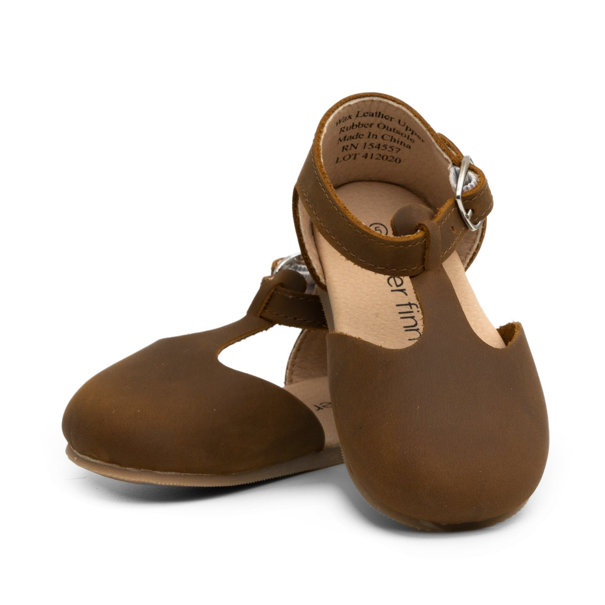 Brown - Mary Jane - Hard Sole