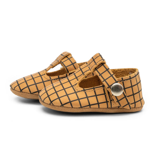 Parker - T-Strap Mary Jane - Soft Sole