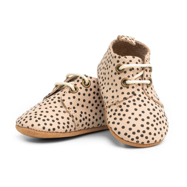 Dottie - Premium Leather Oxfords - Soft Sole