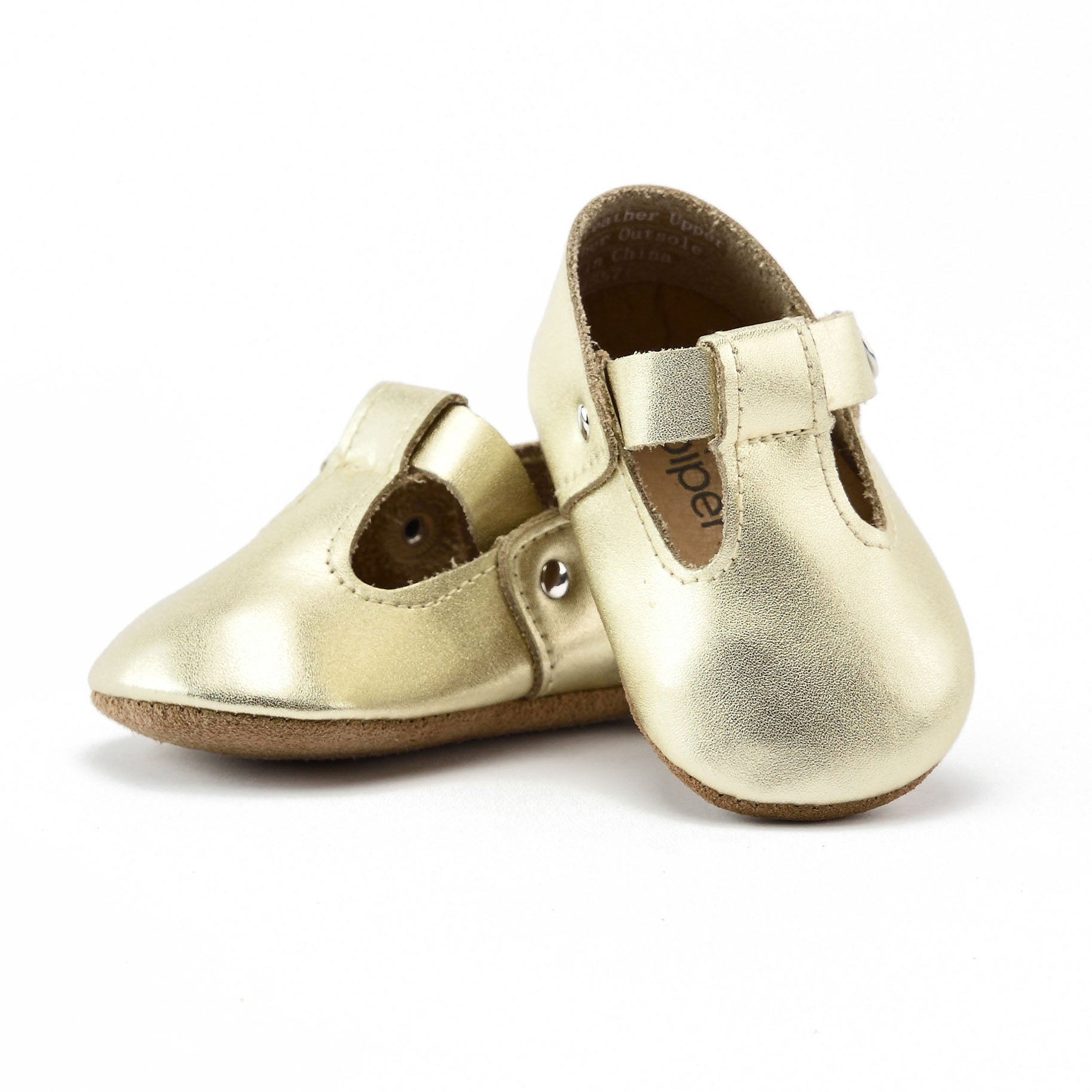 Goldie - T-Strap Mary Jane - Soft Sole