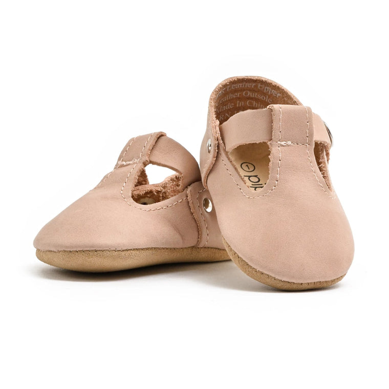 Blush - T-Strap Mary Jane - Soft Sole