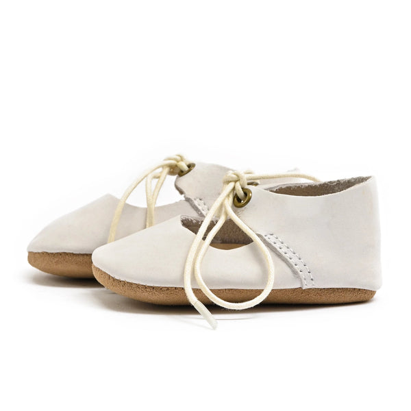 Dove - Lace-Up Mary Jane - Soft Sole