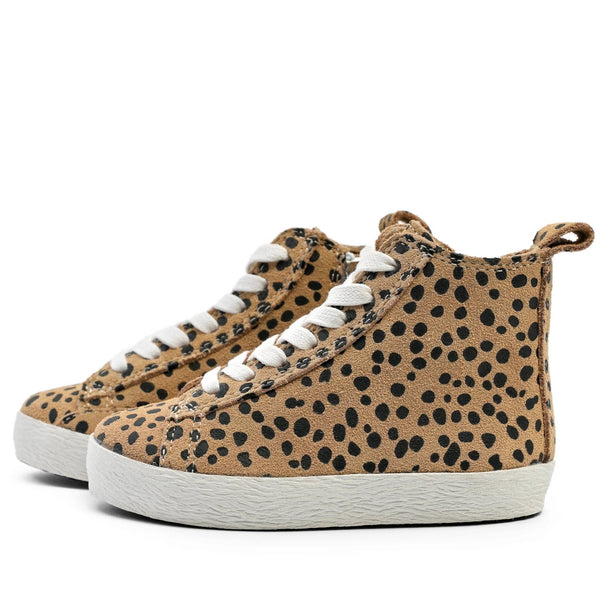 Cheetah - High Top Sneakers
