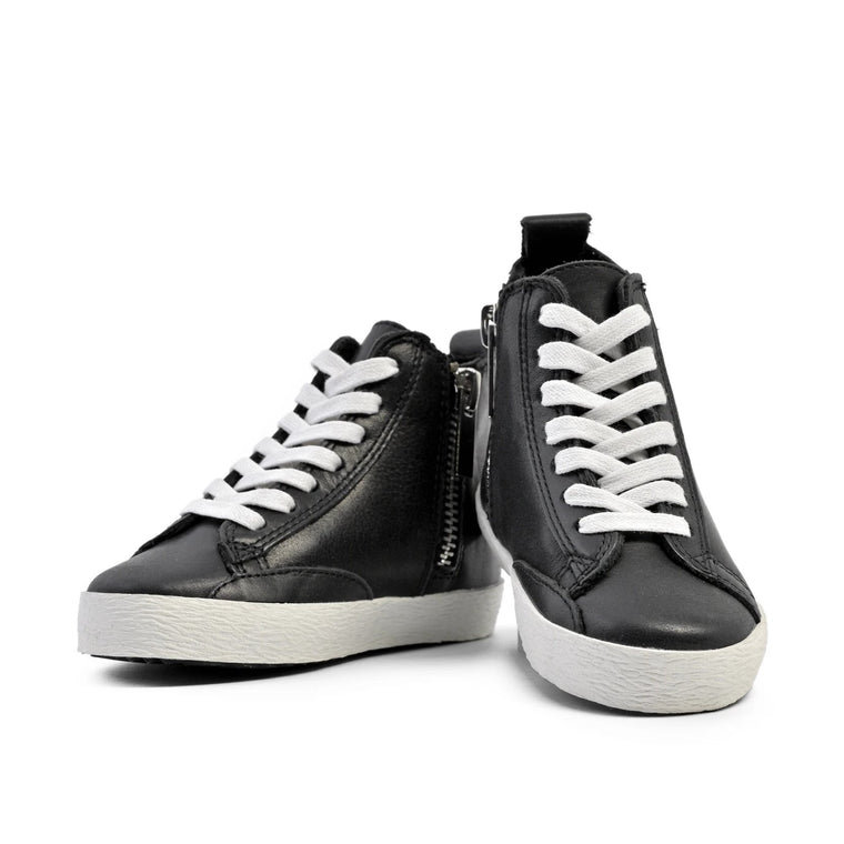 Black - High Top Sneakers