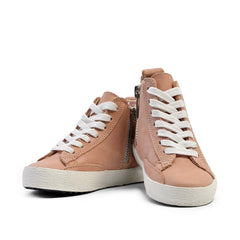 Blush - High Top Sneakers