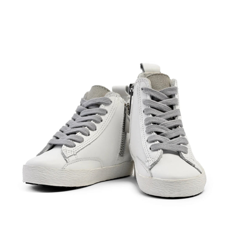White - High Top Sneakers