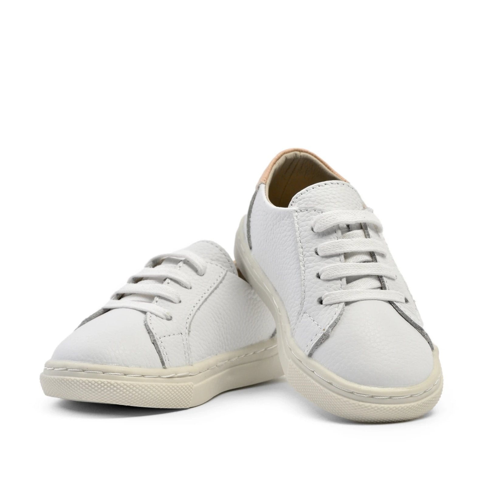 White - Low Top Sneakers