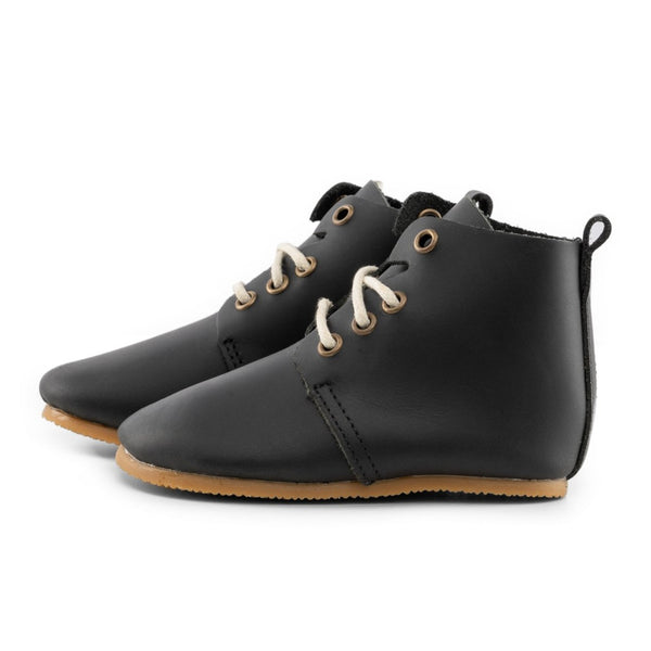 Hamilton - High Top Oxfords - Hard Sole