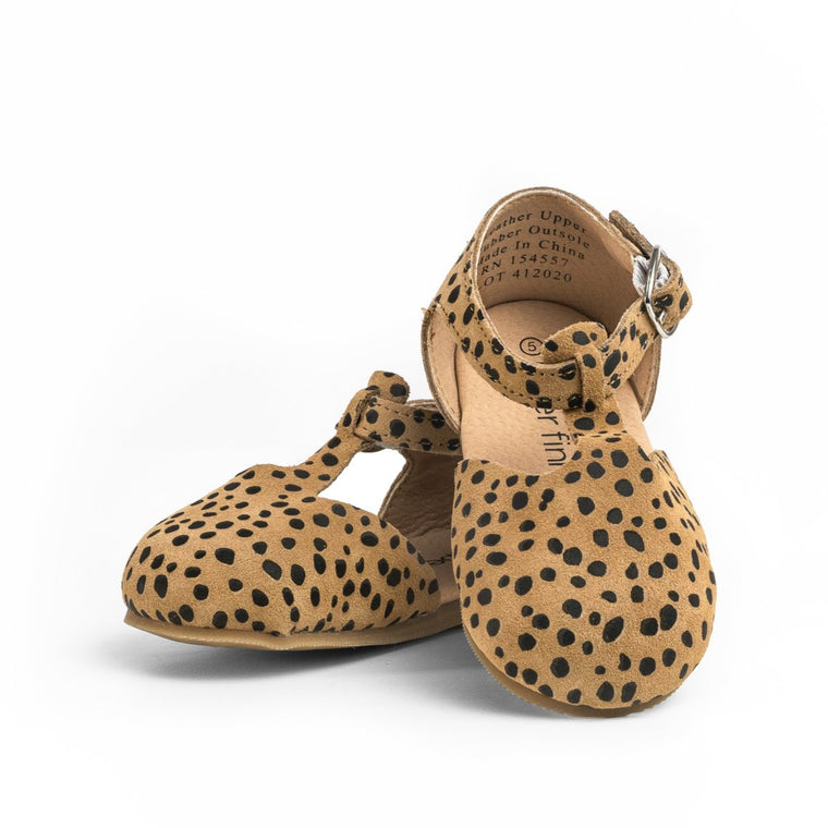 Cheetah - Mary Jane - Hard Sole