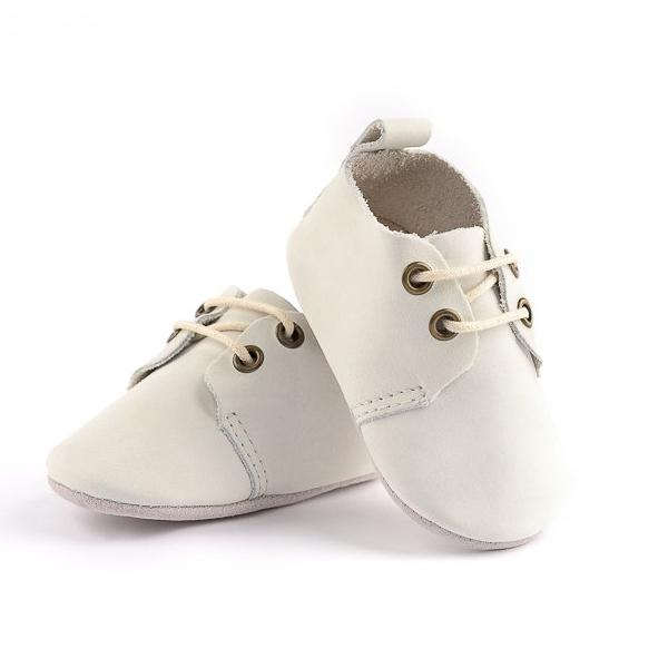 Dove Oxford - Top Grain - Soft Sole