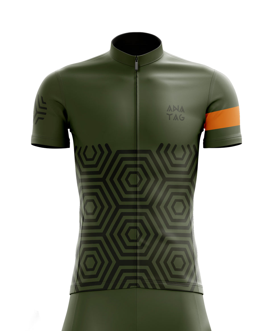 Cycling Jersey - Camo Chameleon - Anatag