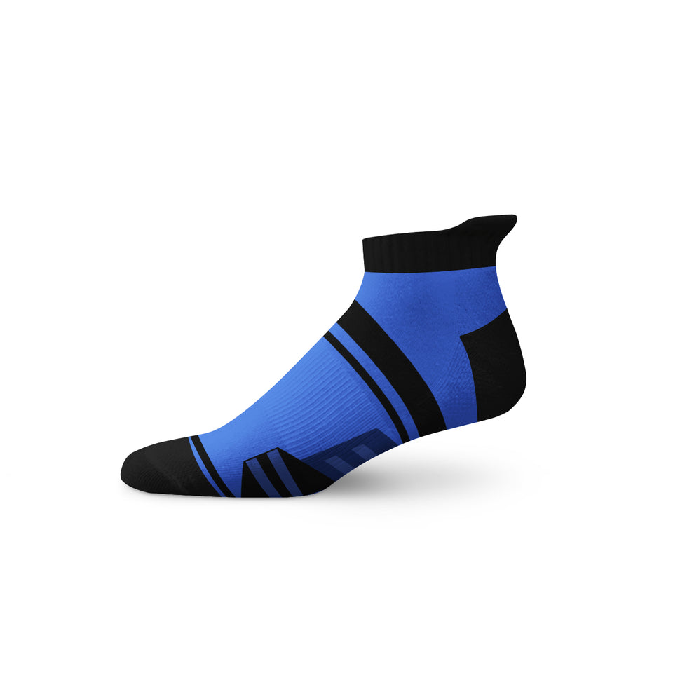 Ankle - Feathered Runner - Ankle - Blue/Black - Anatag