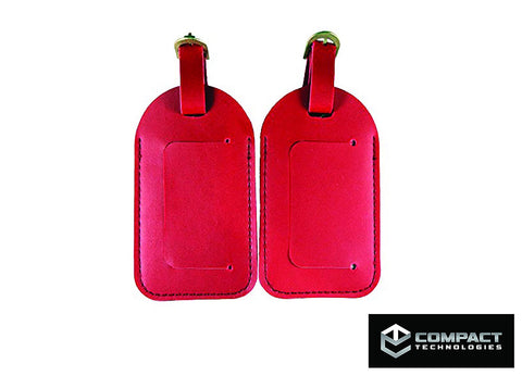 Compact Technologies Travel Luggage Tags (set of two)
