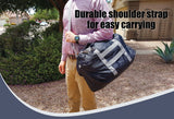 Compact Technologies Travel Duffel Bag - Foldable, Packable