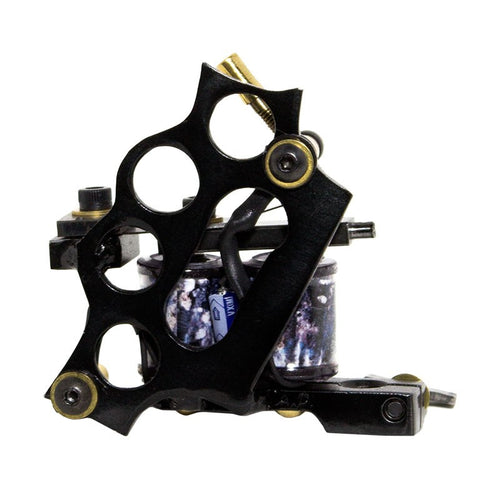 Tattoo Machine Brass Knuckles Black