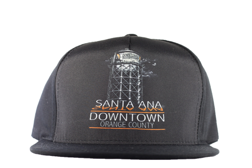 Trucker Hat: Santa Ana - Black