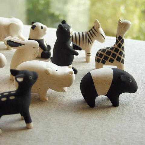 Hand Carved Wooden MALAYAN TAPIR