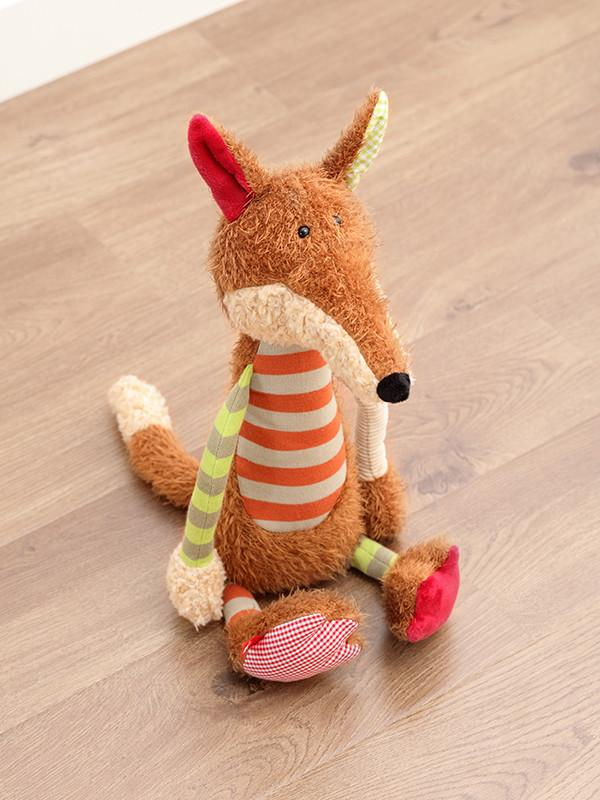Patchwork Sweety Striped Fox