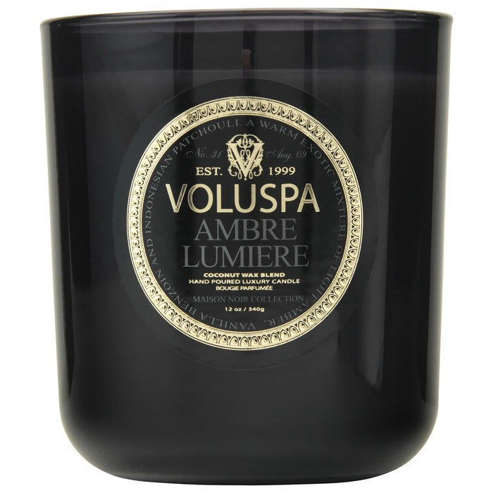Ambre Lumiere Candle