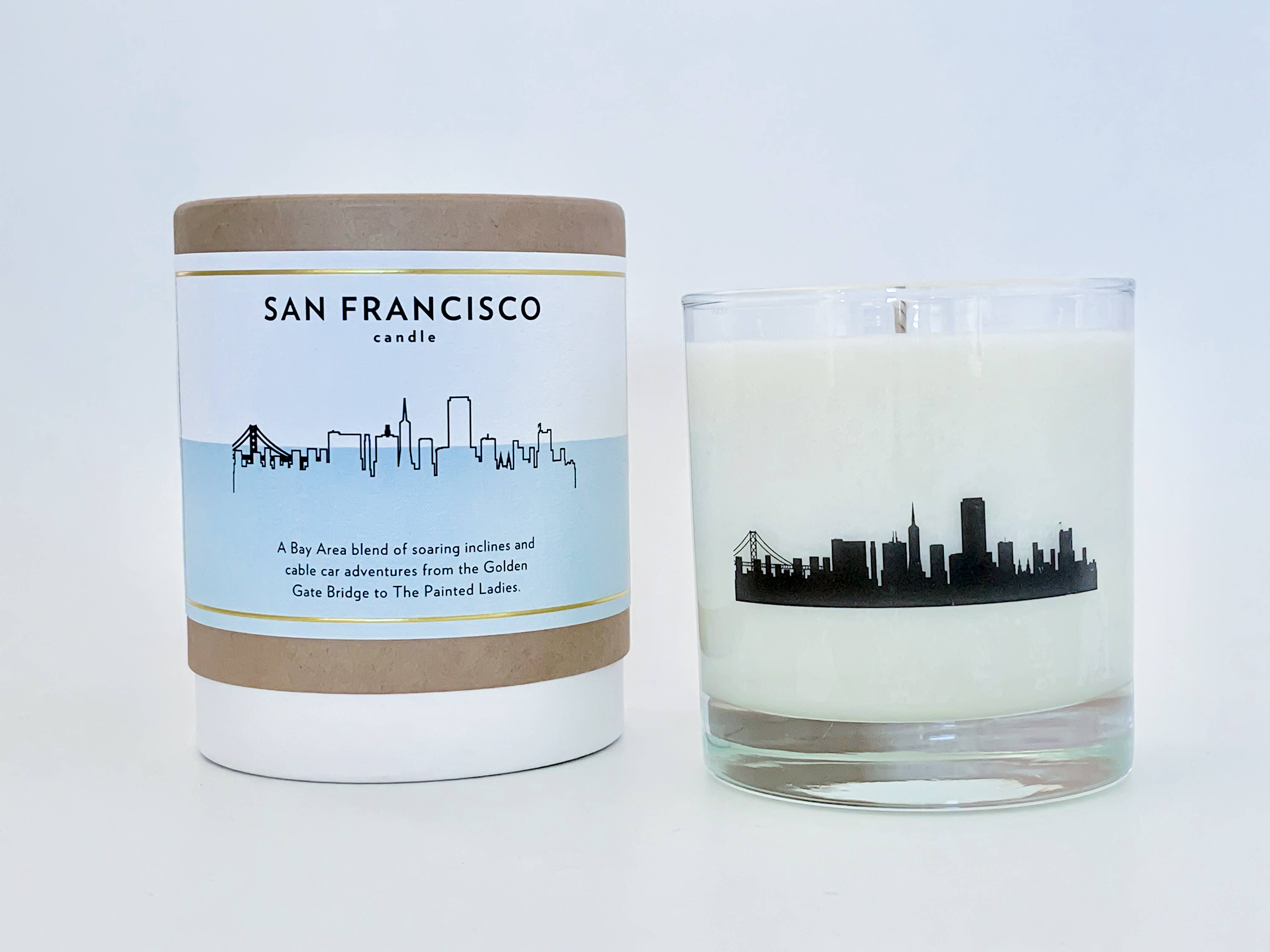 San Francisco City Soy Candle