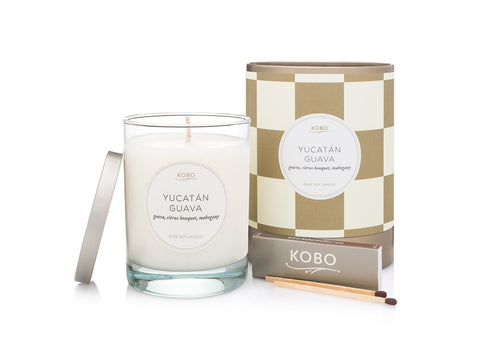 Yucatán Guava Soy Candle
