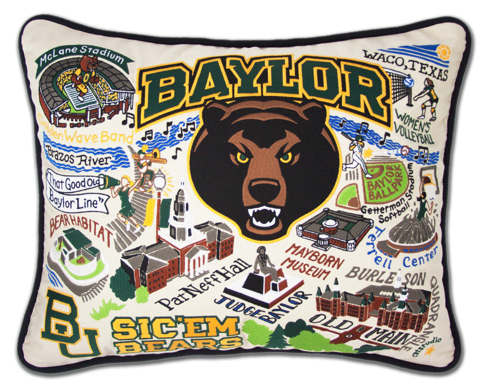 BAYLOR UNIVERSITY Pillow