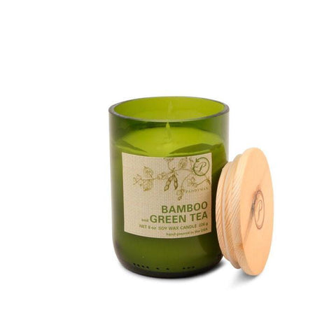 Paddywax Eco Candle - Bamboo & Green Tea
