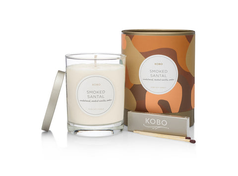 Smoked Santal Soy Candle
