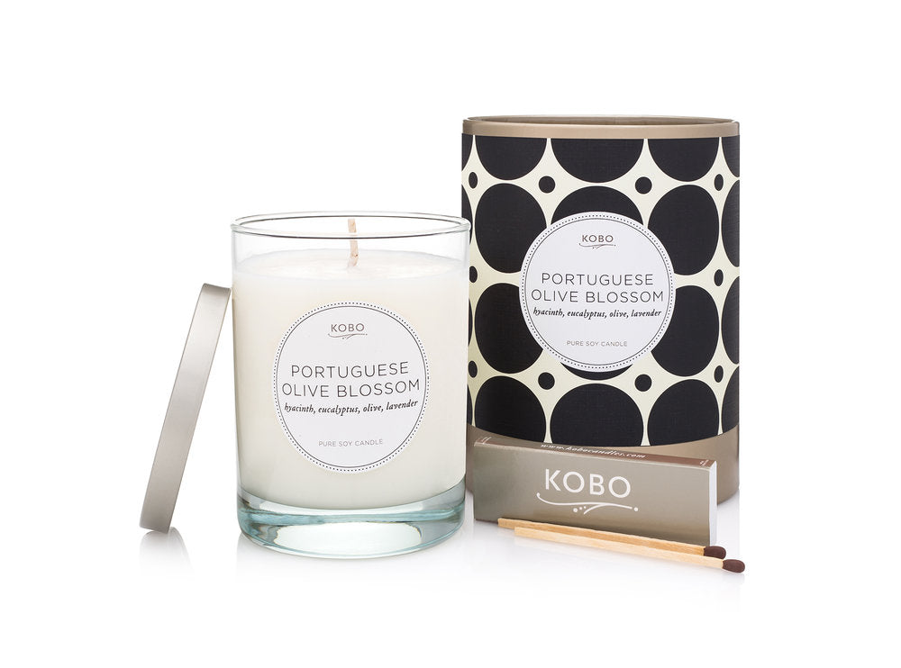 Portuguese Olive Blossom Soy Candle