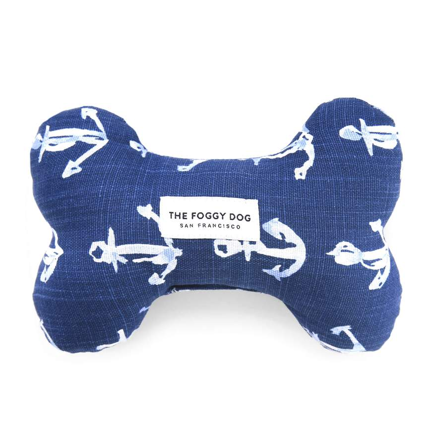 Down By The Sea Dog Squeaky Toy