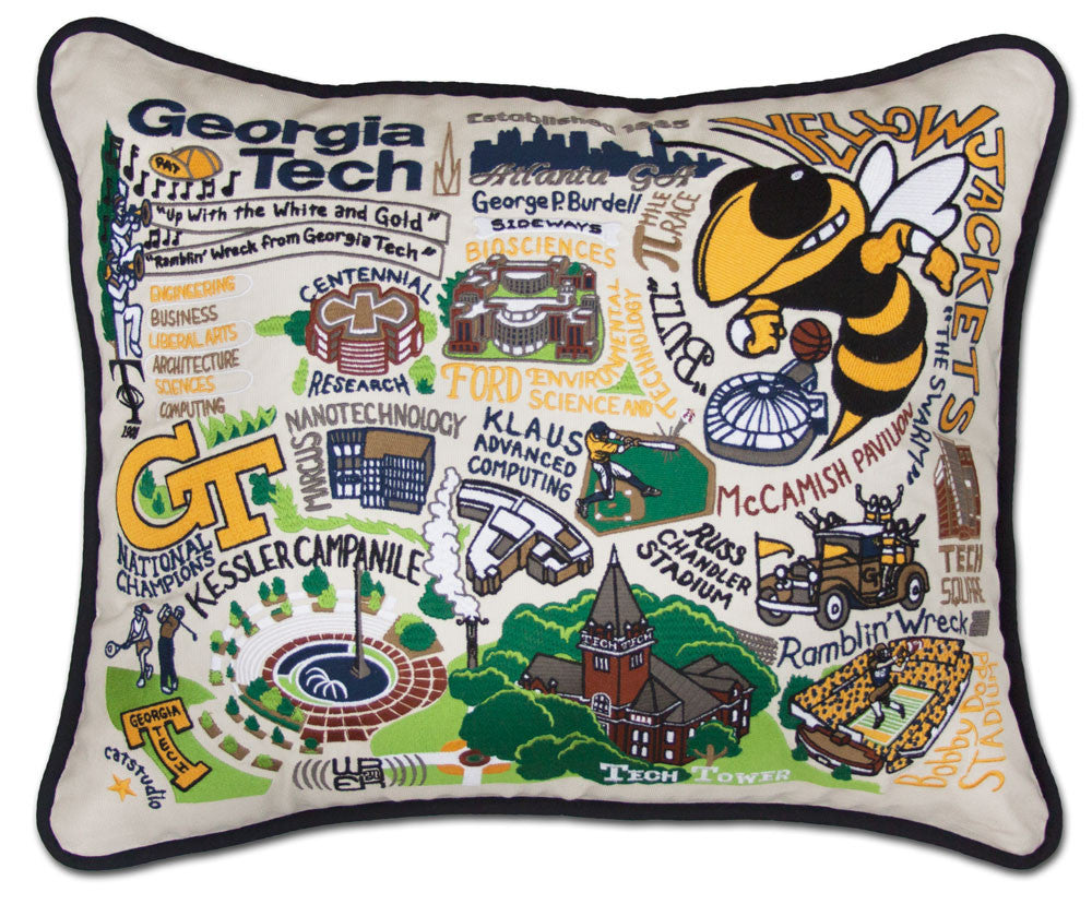 GEORGIA TECH UNIVERSITY Pillow