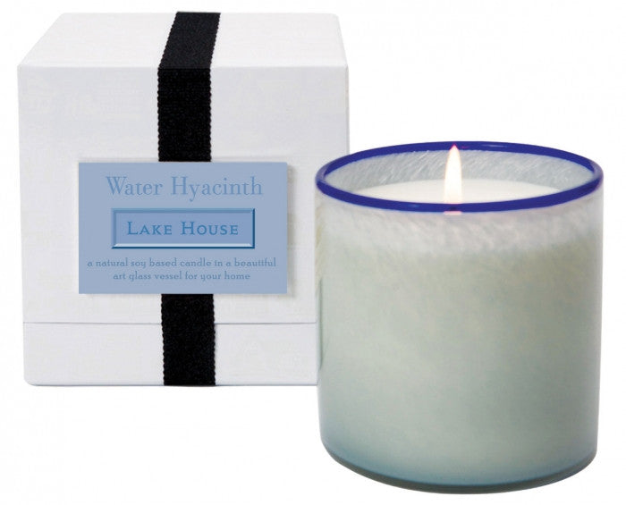 Water Hyacinth / Lake House Candle
