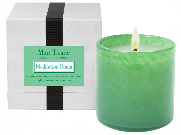 Mint Tisane / Meditation Room Candle