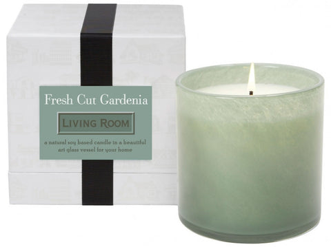 Fresh Cut Gardenia / Living Room Candle