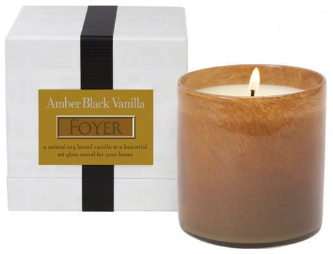 Amber Black Vanilla / Foyer Candle