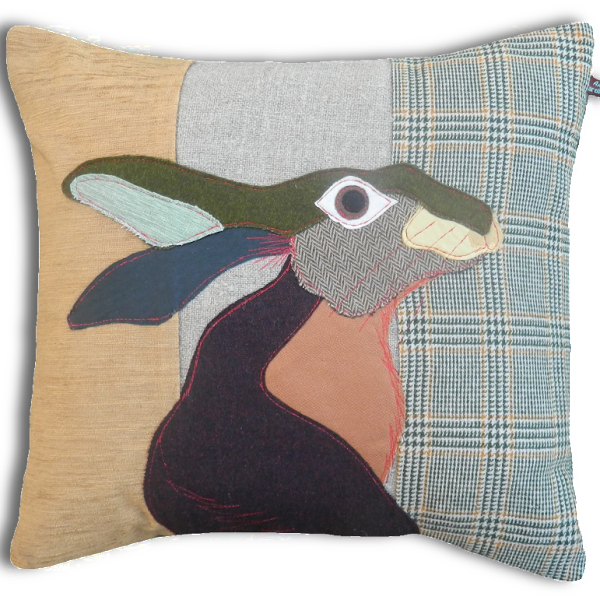 Hare Hand Made Pillow