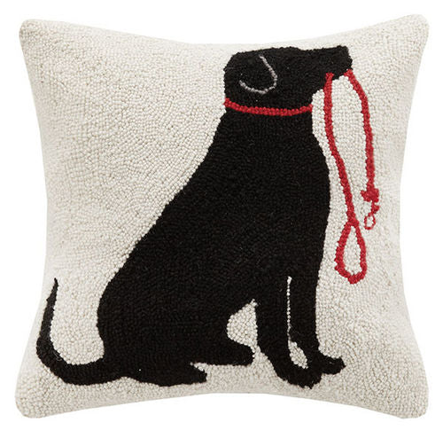 LAB & LEASH Hook Pillow